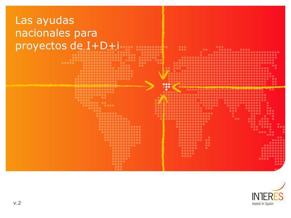 Las ayudas nacionales para proyectos de I+D+i v.2