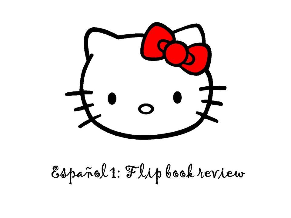 Español 1: Flip book review