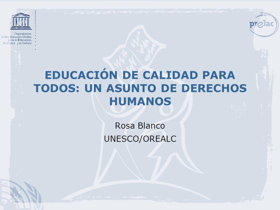 2 El ejercicio del Derecho a la educación La educación hace posible el desarrollo de las personas y de las sociedades y el ejercicio de otros derechos.