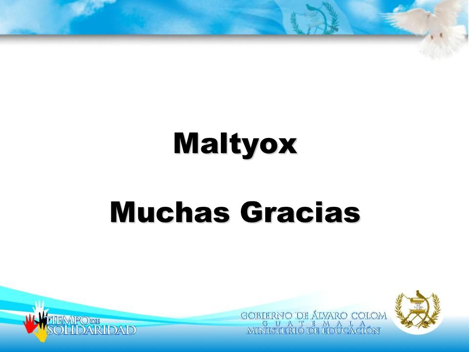 Maltyox Muchas Gracias
