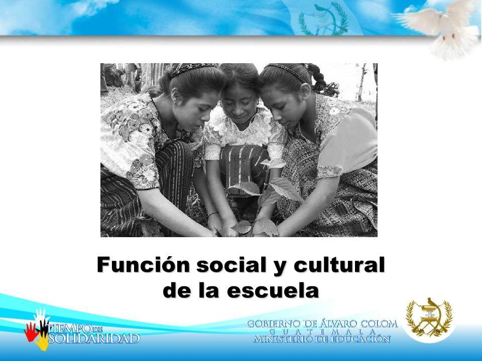 La reflexión acerca de la función social de la escuela alude a un debate que sigue siendo de gran relevancia y actualidad.