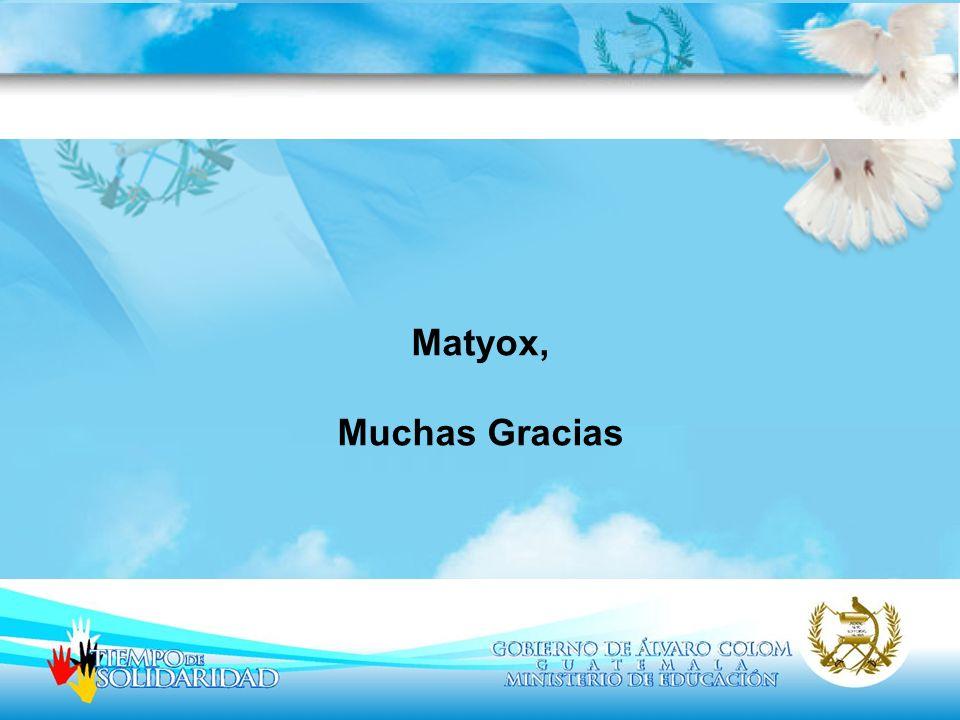 Matyox, Muchas Gracias