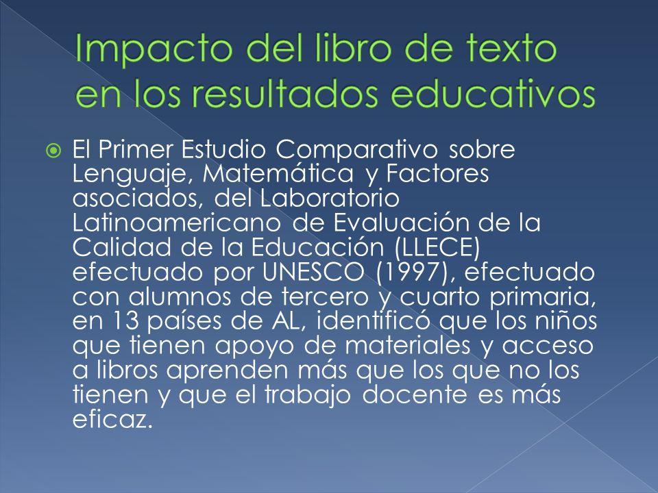 El Primer Estudio Comparativo sobre Lenguaje, Matemática y Factores asociados, del Laboratorio Latinoamericano de Evaluación de la Calidad de la Educa