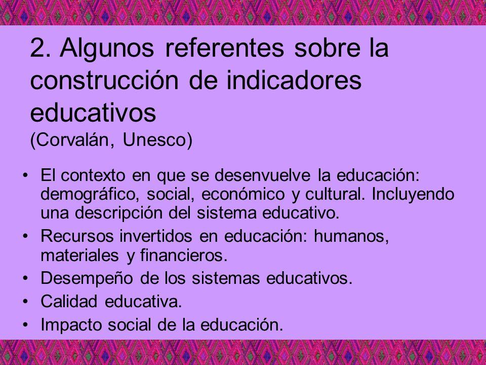 El contexto en que se desenvuelve la educación: demográfico, social, económico y cultural. Incluyendo una descripción del sistema educativo. Recursos