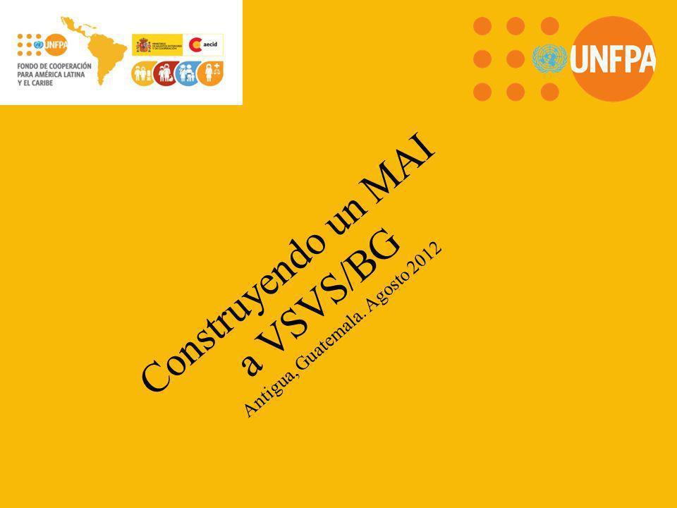 Construyendo un MAI a VSVS/BG Antigua, Guatemala. Agosto 2012
