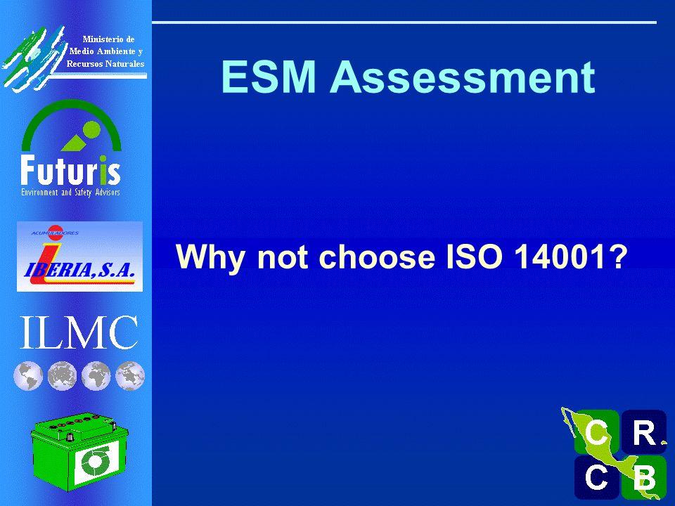 ISO 14001 ….No verifican Prácticas Operativas!.