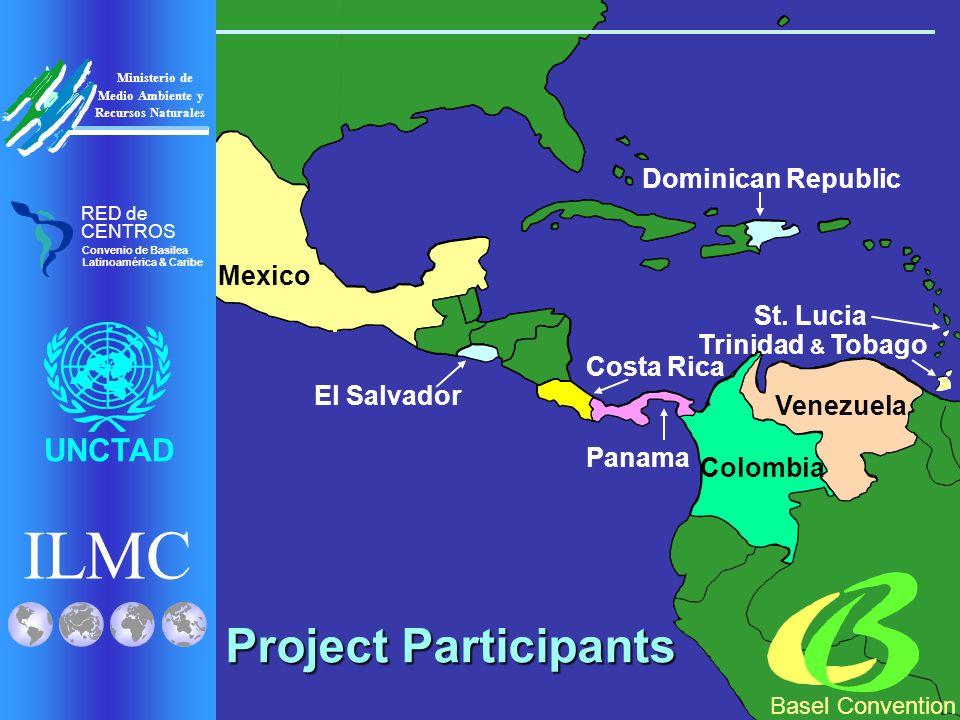 Venezuela Trinidad & Tobago Colombia Mexico Panama Costa Rica Dominican Republic El Salvador St.