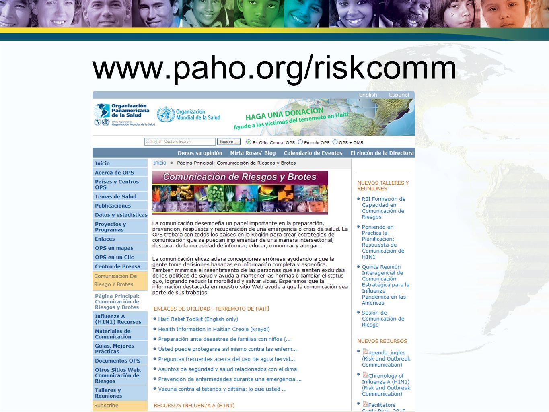 www.paho.org/riskcomm