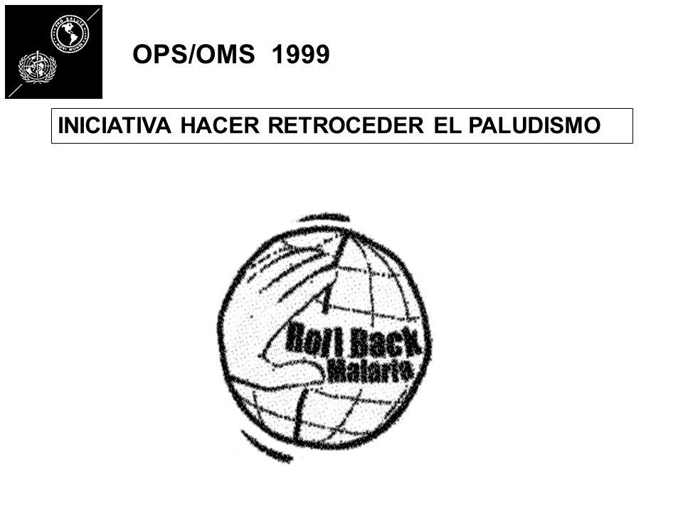INICIATIVA HACER RETROCEDER EL PALUDISMO OPS/OMS 1999