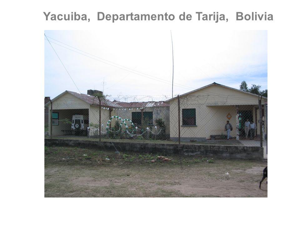 Yacuiba, Departamento de Tarija, Bolivia