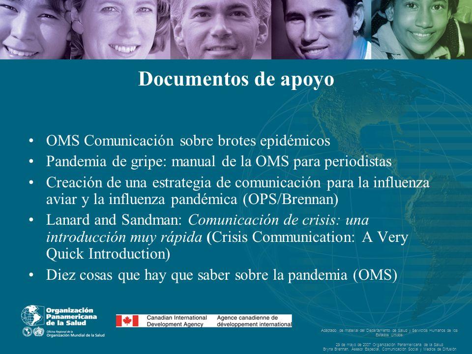Adaptado de material del Departamento de Salud y Servicios Humanos de los Estados Unidos.