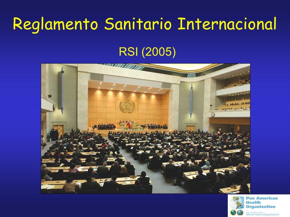Conjunto de normas y procedimientos acordados por 193 países para limitar la propagación internacional de epidemias y otras emergencias de salud pública; Incrementar la seguridad de la salud pública global; Minimizar interferencias a los viajes, el comercio y las economías.