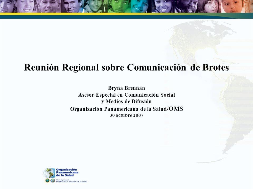 Por qué estamos aquí Para avanzar hacia la próxima etapa de la comunicación de brotes Para someter a prueba y contribuir a la realización de una simulación de comunicación Para asegurar que nuestro trabajo llegue a todos los niveles en todos los países