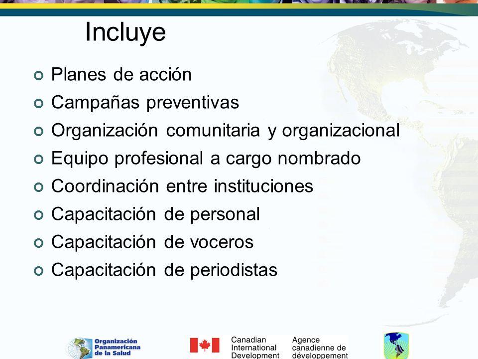 También llega: A través de grupos y organizaciones.