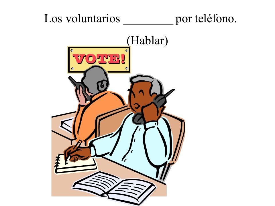 La profesora ________ la clase. (Enseñar)