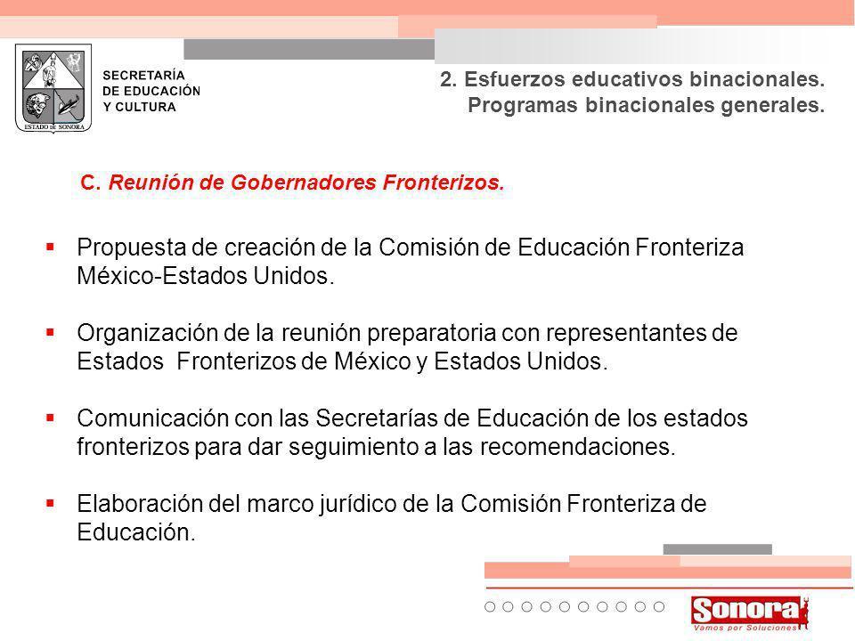C. Reunión de Gobernadores Fronterizos.