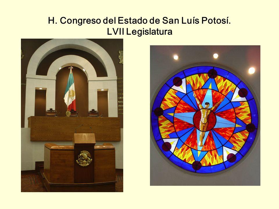 H. Congreso del Estado de San Luís Potosí. LVII Legislatura