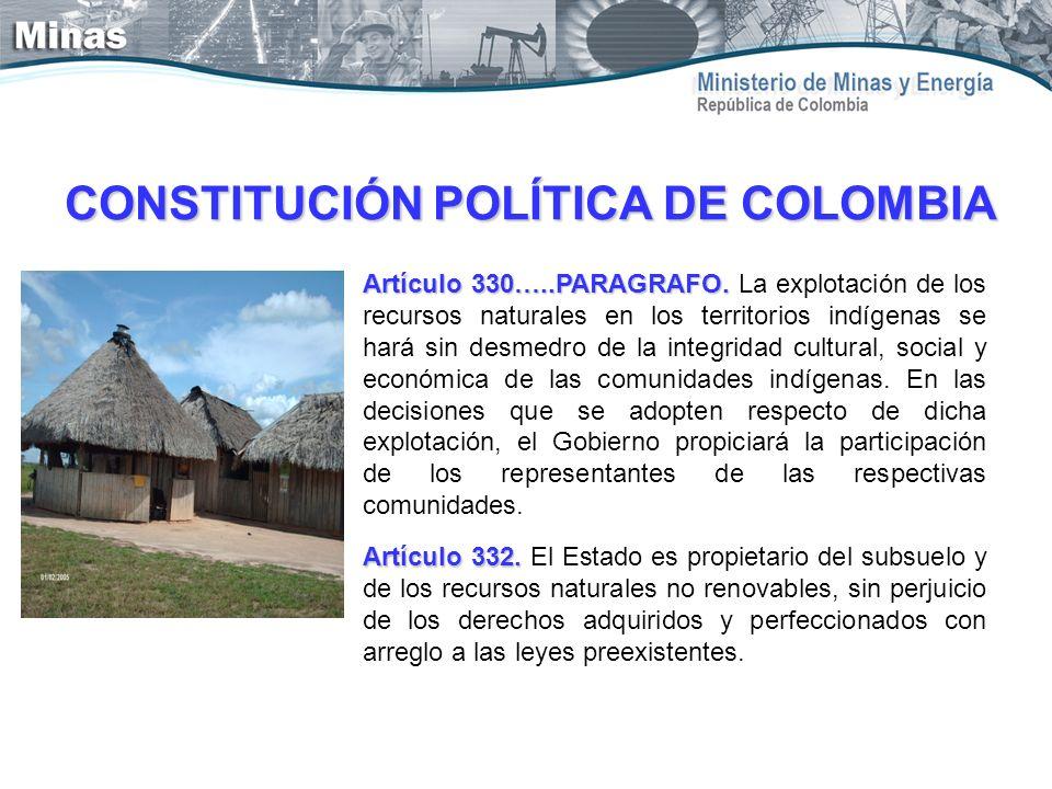 Artículo 330…..PARAGRAFO. Artículo 330…..PARAGRAFO. La explotación de los recursos naturales en los territorios indígenas se hará sin desmedro de la i