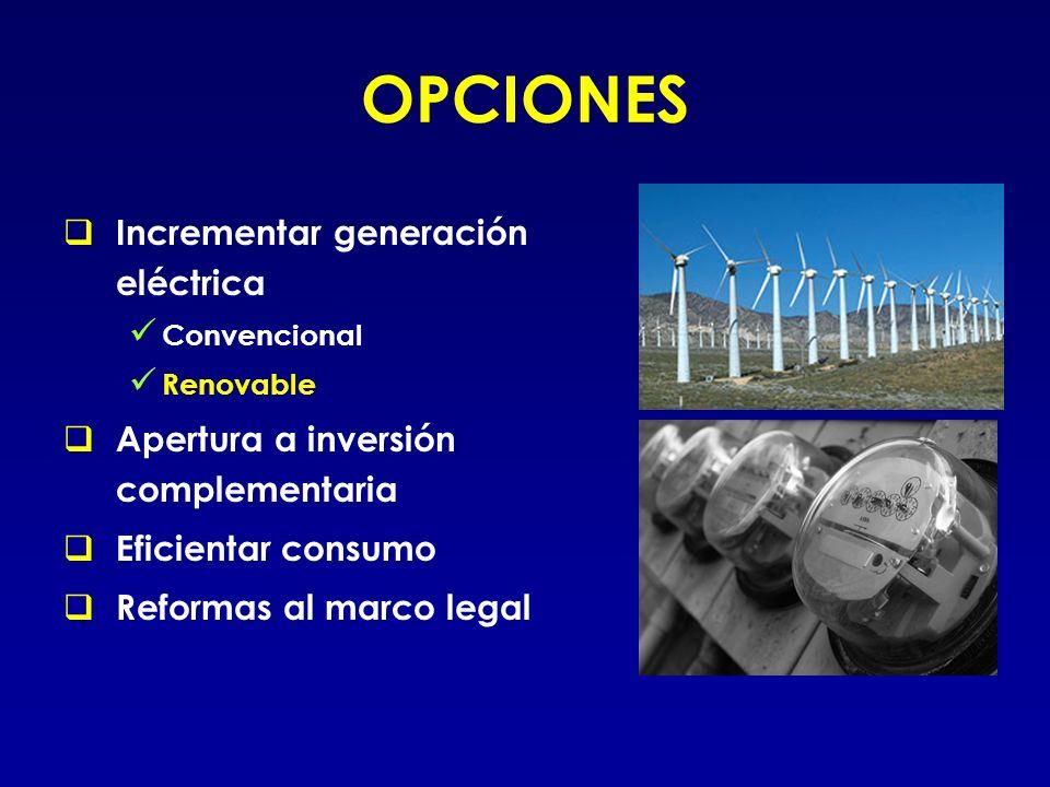 ENERGÍA RENOVABLE De fuentes sustentables.
