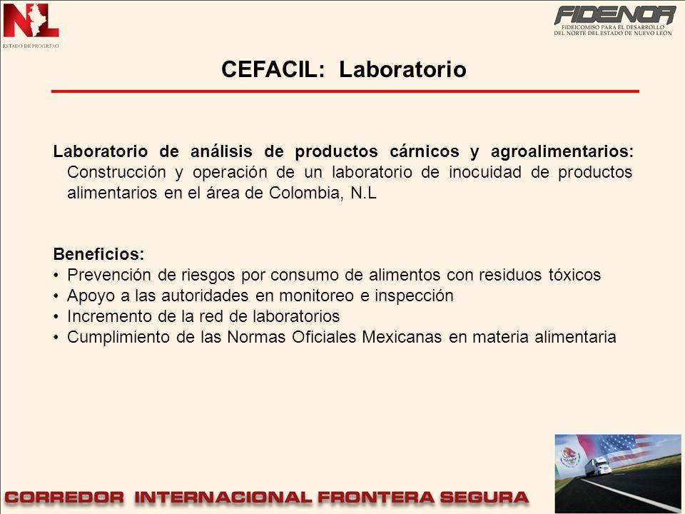 Laboratorio de análisis de productos cárnicos y agroalimentarios: Construcción y operación de un laboratorio de inocuidad de productos alimentarios en