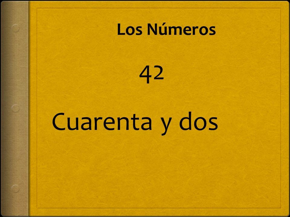 48 Cuarenta y ocho