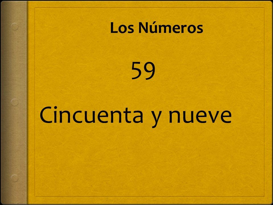 Los Números Dieciséis