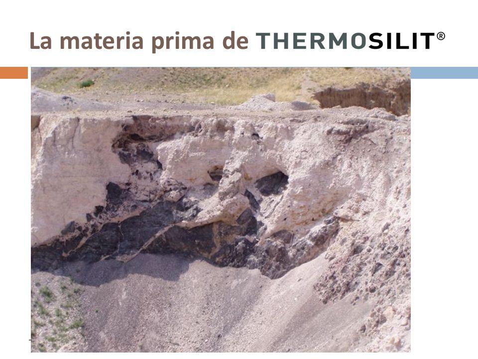La materia prima de –Enero 2009–Thermosilit – La nueva dimensión en aislamiento mineral
