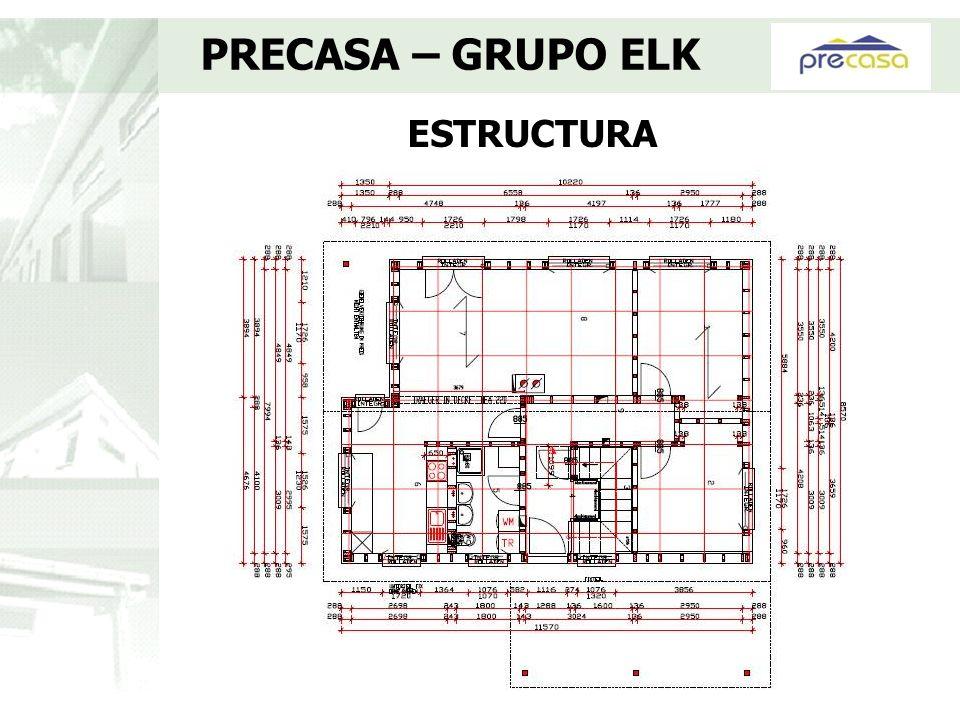 ESTRUCTURA PRECASA – GRUPO ELK