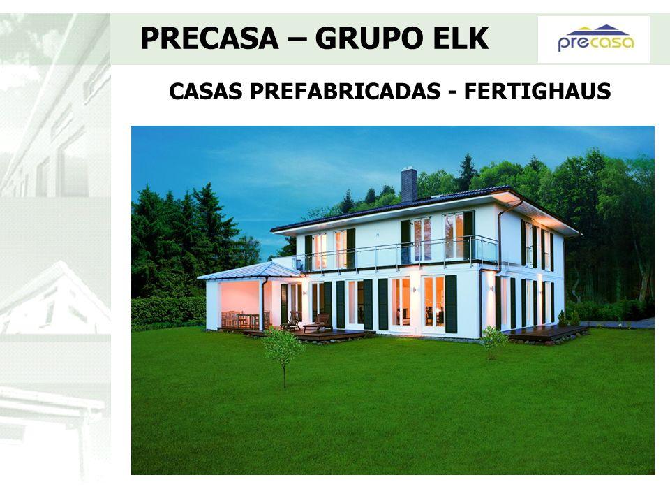 Nuestros clientes pueden: - Elegir entre los mas de 300 modelos de casas - Aportar diseño propio - Modificar los planos de distribución - Adaptar la vivienda para minusválidos - Personalizar cualquier aspecto de la vivienda PRECASA – GRUPO ELK