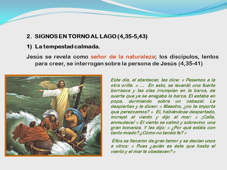 No desanimarse por la pequeñez del presente. Habrá cosecha (4,30-32) Para los oyentes de Jesús la semilla se convierte en arbusto por un milagro de Di