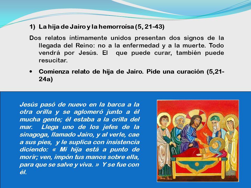 Jesús no puede con los intereses creados de los hombres (5,15- 20) Llegan donde Jesús y ven al endemoniado, al que había tenido la Legión, sentado, ve