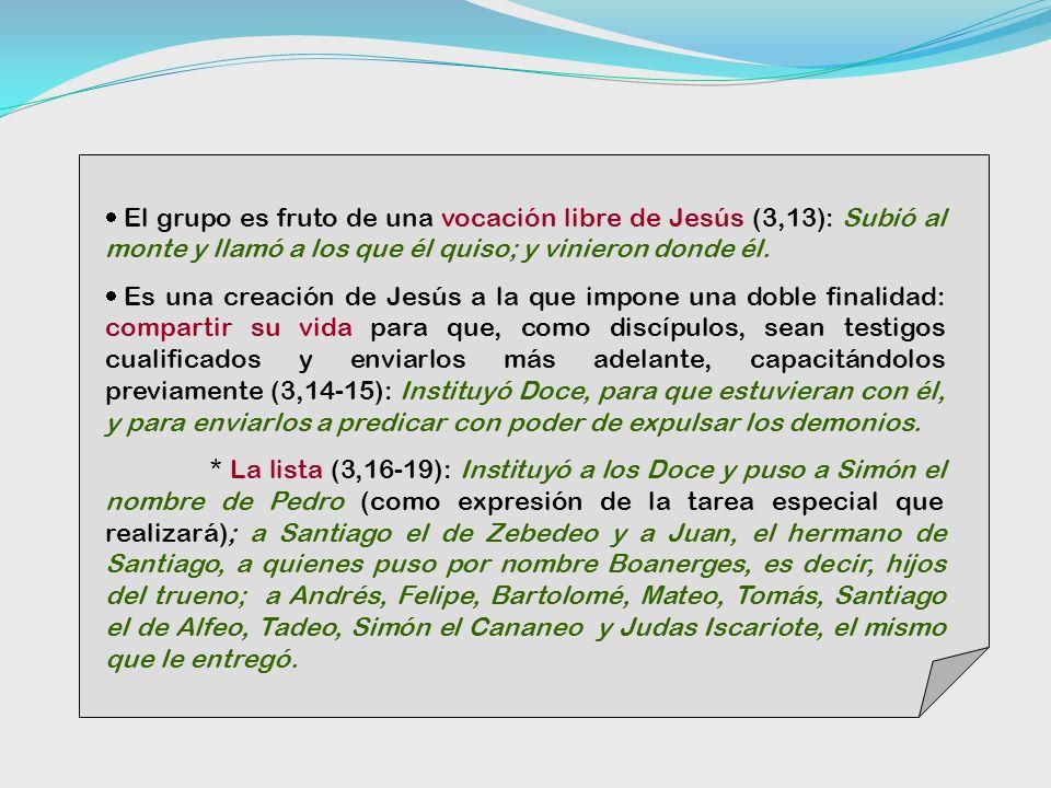 Los nazaretanos rechazan a Jesús Los familiares quisieron impedir el ministerio de Jesús, llevándoselo a su pueblo.