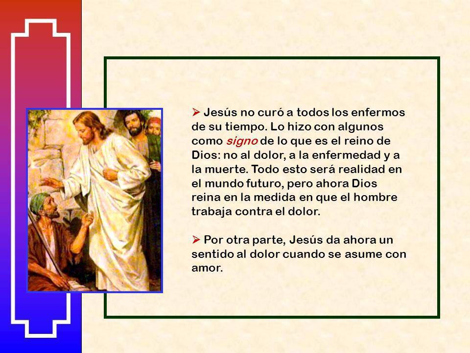 Cuando salió de la sinagoga se fue con Santiago y Juan a casa de Simón y Andrés. La suegra de Simón estaba en cama con fiebre; y le hablan de ella. Se