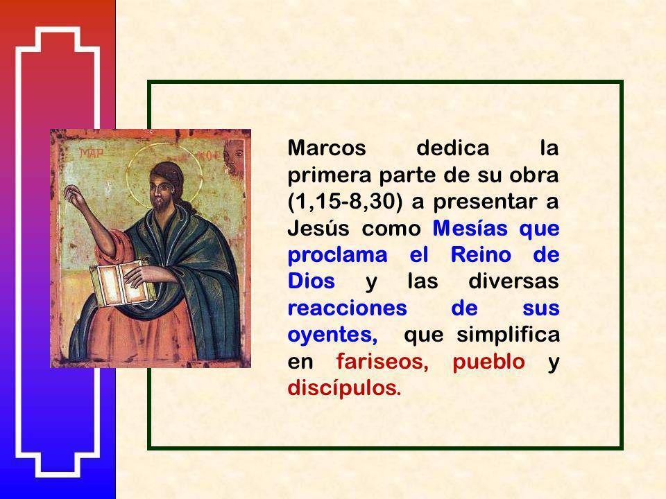 Texto: Antonio Rodríguez Carmona Montaje: Antonio García Polo EVANGELIO DE SAN MARCOS 3. Jesús y los fariseos Ciclo Litúrgico /B