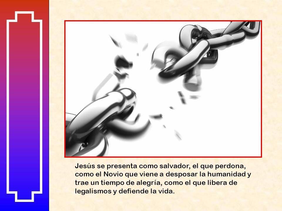 Siguen cinco relatos con doble mensaje, por una parte siguen ofreciendo signos de lo que es el Reino de Dios, y por otra, presenta las reacciones nega