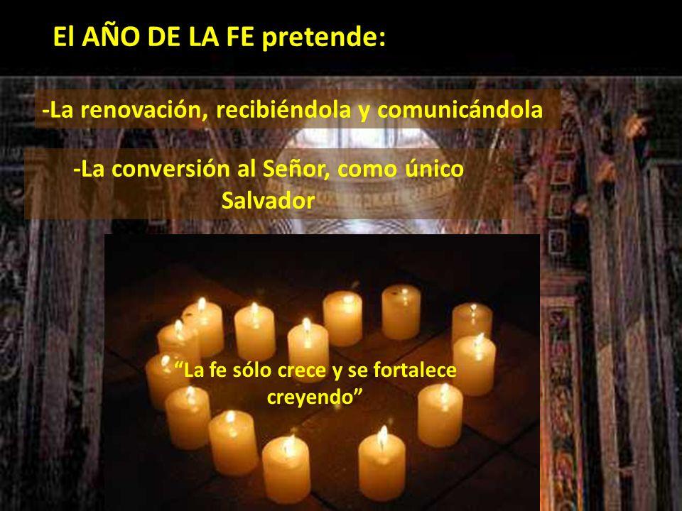 ADQUIRIR CONCIENCIA DE LA FE PARA… 4-) CONFESARLA: Con la fórmula del Credo aprendida de memoria.