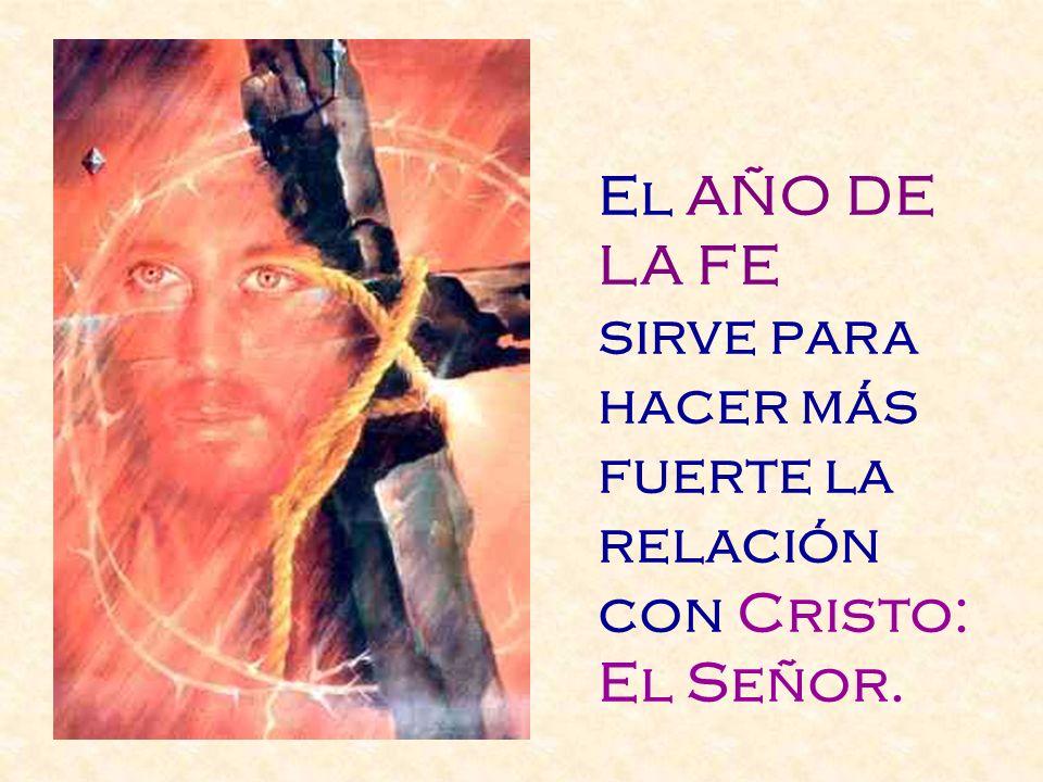 La Fe es compañera de vida: Nos hace percibir los signos de los tiempos. Nos hace dar el testimonio, que tanto escasea en el mundo.