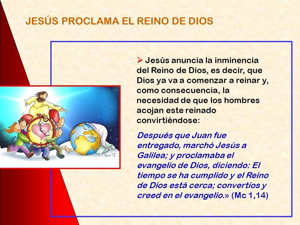 Este era el punto de vista de los discípulos de Jesús, que esperaban que por medio de Jesús Dios irrumpiría con su poder imponiendo a todo el mundo su