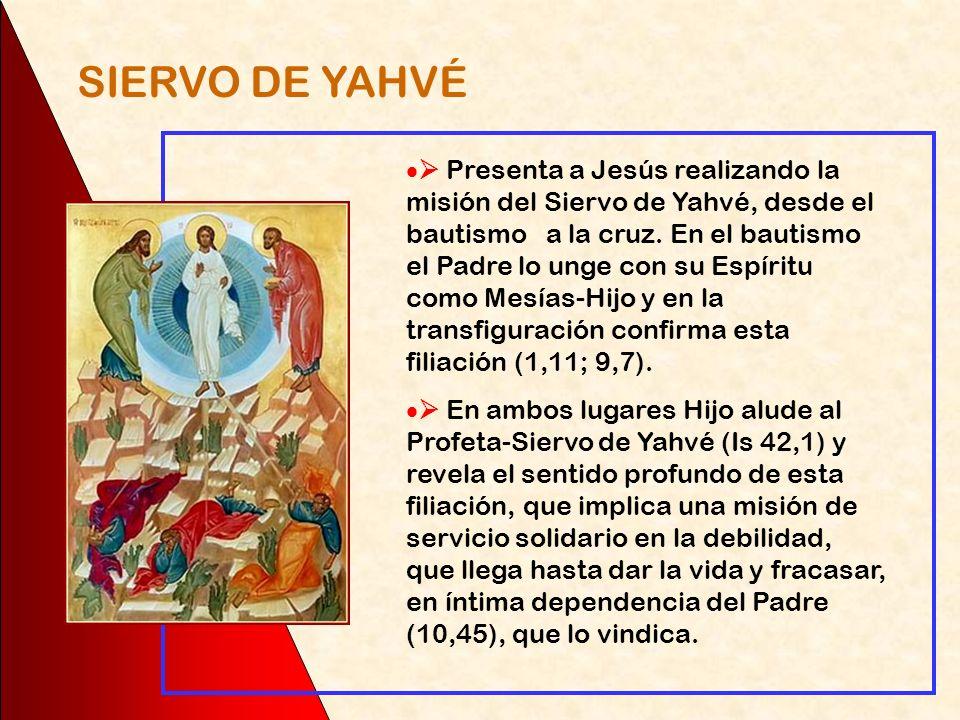 Subraya los aspectos humanos de Jesús, propios de quien es verdadero hombre: se indigna (1,41), se indigna y entristece (3,5), duerme en medio de la t