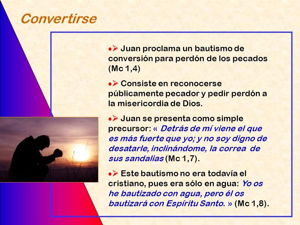 El autosuficiente, el que no espera nada, el que se endiosa, no puede conocer ni recibir a Jesús Jesús ofrece un agua y un alimento que sólo pueden re