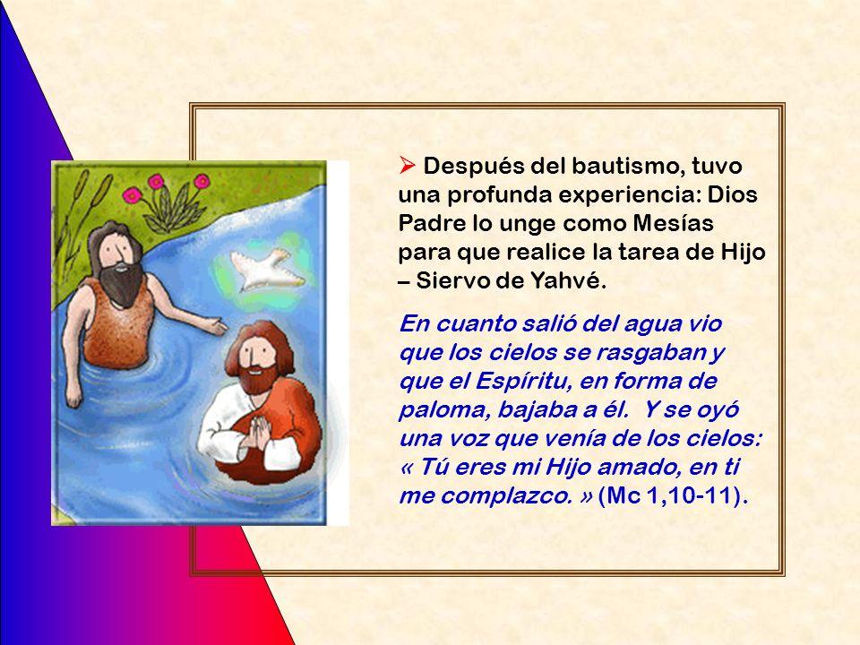 Y sucedió que por aquellos días vino Jesús desde Nazaret de Galilea, y fue bautizado por Juan en el Jordán (Mc 1,9)
