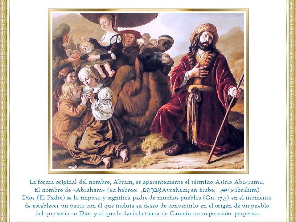 El Señor se fijó en Abrám de un modo muy especial y le eligió para realizar una misión importantísima.