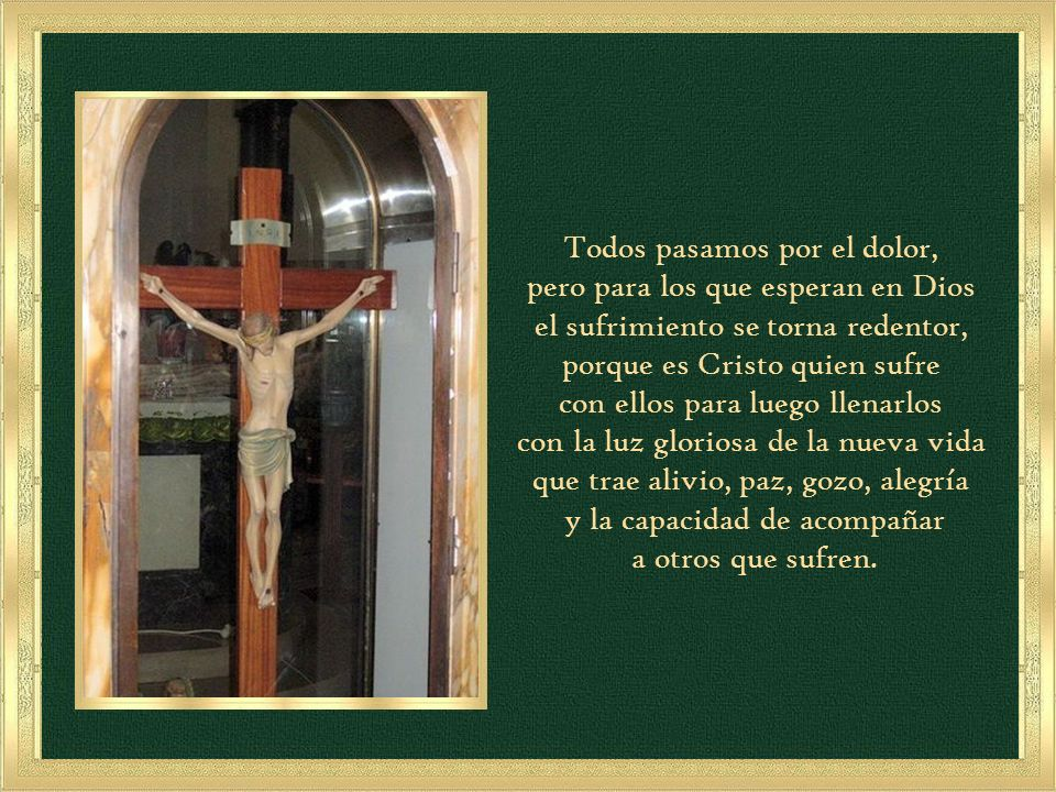 Felices los que lloran, porque serán consolados. (Mt 5, 5)