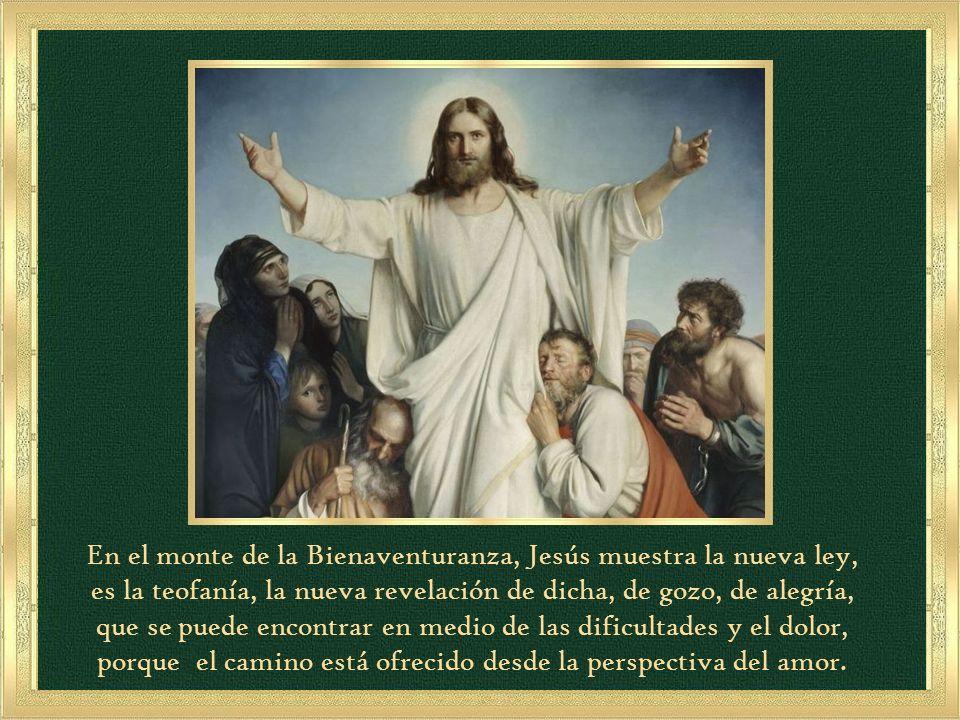 Felices los misericordiosos, porque obtendrán misericordia. (Mt 5, 7)