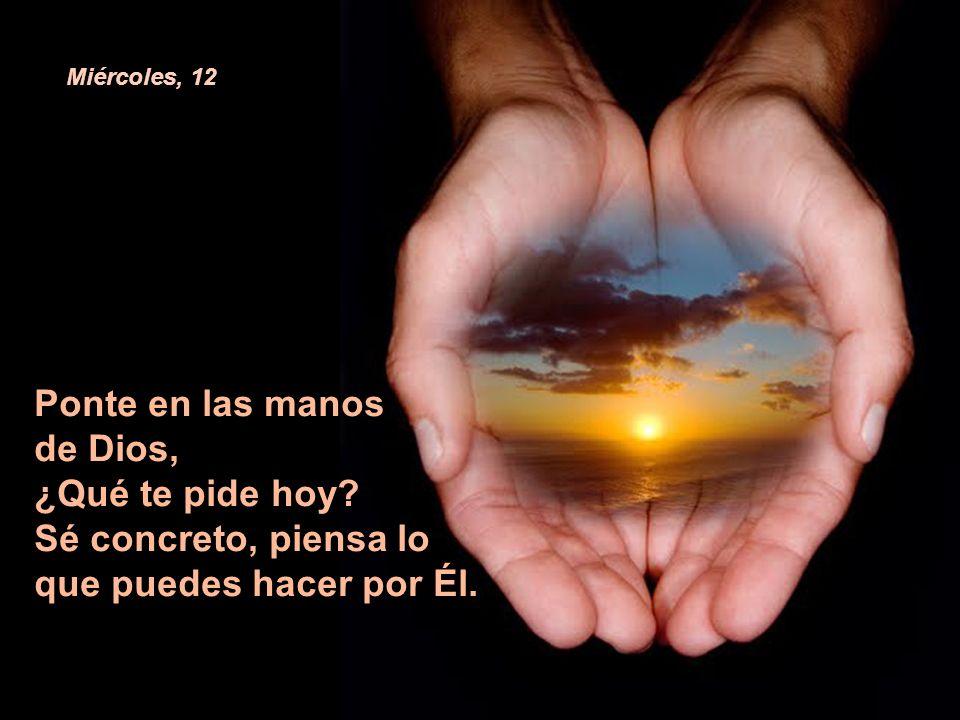 Recuerda la llamada de Jesús en tu vida, ¿eres tu pescador de hombres? Martes, 11