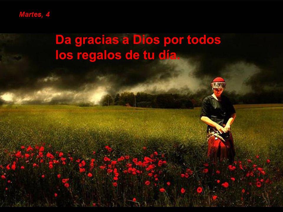 Aprovecha para dar las gracias a todos los que te han acompañado en tu camino de fe. Viernes, 14