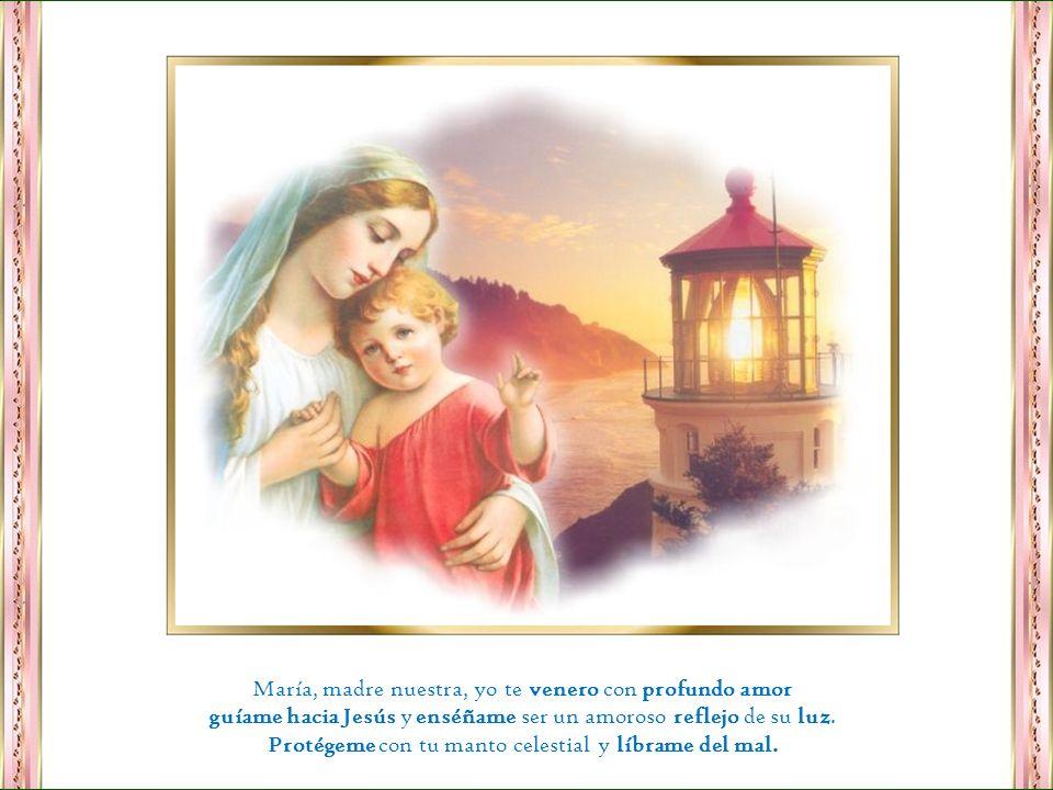 Con ese pensamiento cristiano María es nuestra madre por excelencia. Recurramos a ella siempre y en toda ocasión que nos estará esperando con los braz