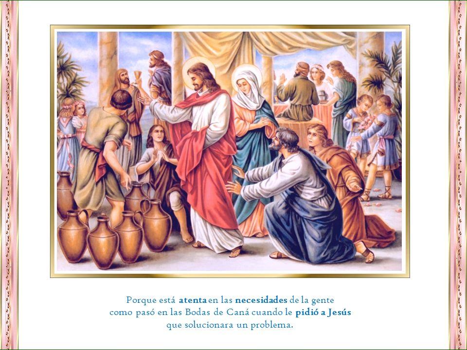 Es digna de veneración por haber amado, cuidado, protegido, y educado a nuestro Salvador.