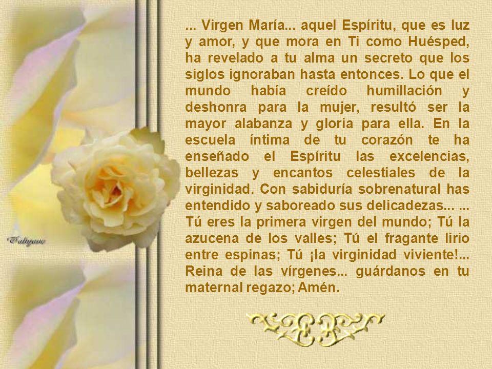 ...Virgen María...