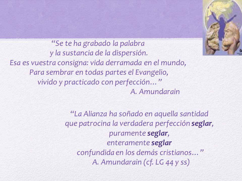 CONSAGRADA Plenitud de la consagración bautismal mediante la práctica de los consejos evangélicos con la entrega de si misma a Dios.
